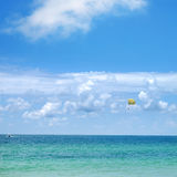 Sea and blue sky Royalty Free Stock Images