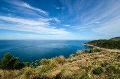 Sea and Blue sky Royalty Free Stock Photos