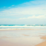 Sea and blue sky Royalty Free Stock Photography