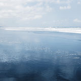 Sea and blue sky background Royalty Free Stock Photography