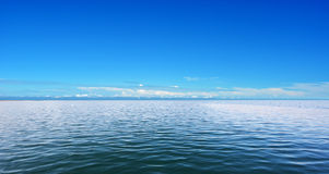 Sea and blue sky Stock Image