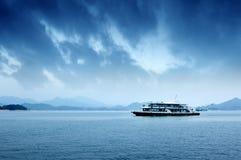 Sea and boat Stock Photo