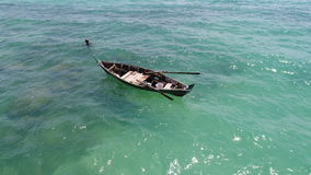 Free Sea, Boat And Fisherman In The Water Royalty Free Stock Photo - 87867255