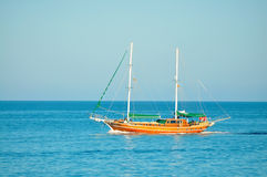 Sea boat Stock Photo