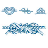 Sea boat rope knots vector illustration isolated marine navy cable natural tackle sign vector illustration