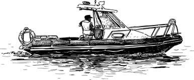 Sea boat Royalty Free Stock Image