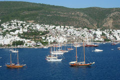 Sea at Bodrum Stock Photography