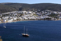 Sea and Bodrum Stock Photos