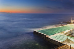 Sea Bondi Pool Dark Stock Photography