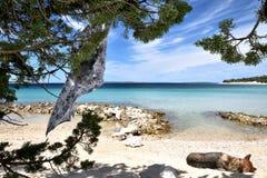 Sea borders Croatia Royalty Free Stock Image