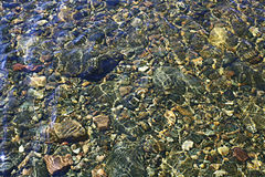 Sea bottom texture Royalty Free Stock Photography