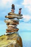 Sea boulder Stock Images