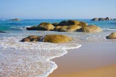 Sea Boulders Royalty Free Stock Photos