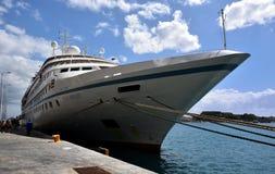 Sea Breeze alongside in Corfu Royalty Free Stock Image