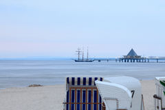 Sea Bridge Royalty Free Stock Images