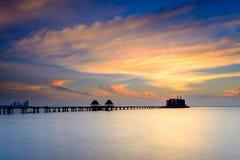 Sea bridge Royalty Free Stock Photo