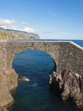 Sea bridge Stock Images
