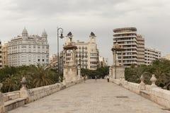 Sea bridge - Puente del Mar. Valencia. Italy. Royalty Free Stock Image