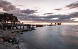 Sea Bridge Stock Image