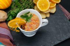 Sea Buckthorn tea Stock Photos