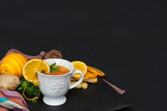 Sea Buckthorn tea Stock Images