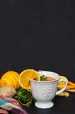 Sea Buckthorn tea Stock Image