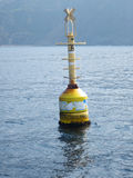 Sea buoy of reporting on the high seas Royalty Free Stock Photography