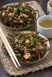 Warm Sea Cabbage Salad With Fried Tofu Stock Photo - Image: 83534371
