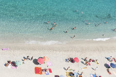 sea of calabria Stock Photo