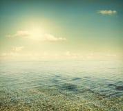 The sea Stock Image