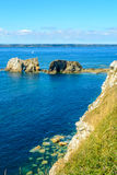 Sea at Camaret-sur-Mer in Brittany, France Stock Photography