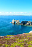 Sea at Camaret-sur-Mer in Brittany, France Stock Photos