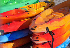 Sea Canoe Stock Images