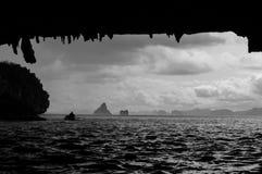 Sea canoeing Royalty Free Stock Photos