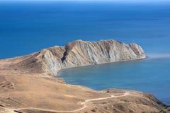 Sea cape. In the Black Sea Stock Photo