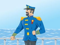 Sea Captain Royalty Free Stock Photography