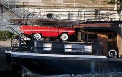 Sea car Stock Photo