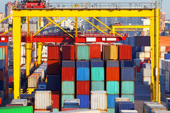 Sea cargo transportation Royalty Free Stock Image