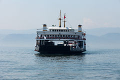 The sea carriage at the Sea Marmara Royalty Free Stock Photography