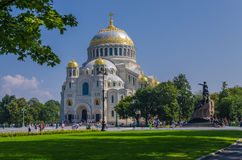 Sea cathedral of the prelate Nicholas The Wonderworker Stock Images