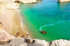 Sea Cave Cruise, Algarve Coast, Portugal Stock Photography