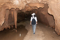 Sea Cave Kao-Kob in Trang Thailand Royalty Free Stock Images