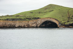 Sea cave at Punta Vicente Roca, on Isabela Island