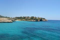 Sea Cave. Seen from Porto Cristo, Mallorca Stock Image