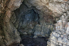 Sea cave in Turkey Royalty Free Stock Photography