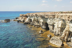 Sea Caves, Cyprus, Europe Royalty Free Stock Image