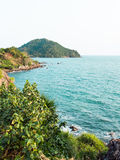 Sea in Chantaburi, thailand. Sea and island in Chantaburi, thailand Royalty Free Stock Photography
