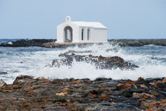 Sea chapel Stock Images