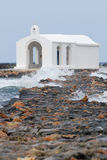 Sea chapel Stock Image