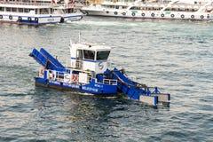 Sea cleaner Stock Photo